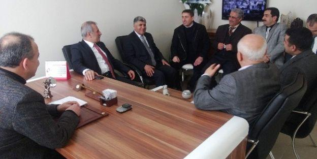 Milletvekili Şahin, İlim Yayma Cemiyeti'ni Ziyaret Etti