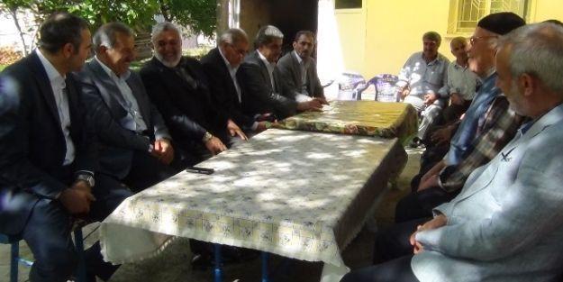 Milletvekili Şahin, Topsöğüt'ü Ziyaret Etti