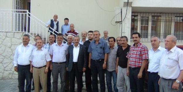 Milletvekili Şahin, Yeşilyurt Ziraat Odasını Ziyaret Etti