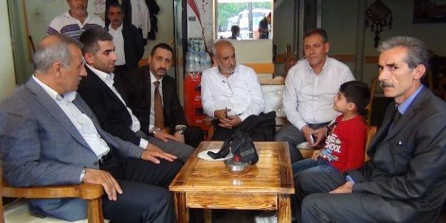Milletvekili Şahin'den Esnaf Gezisi