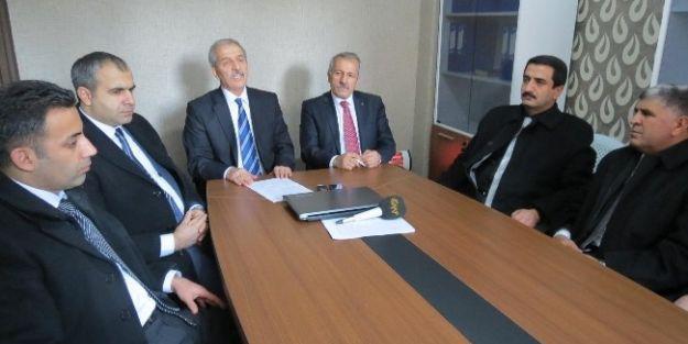 Milletvekili Şahin'den Hukukcular Derneği'ne Ziyaret