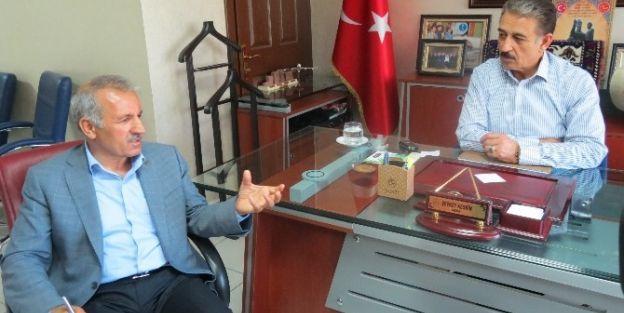 Milletvekili Şahin'den Mesob Başkanı Keskin'e Ziyaret