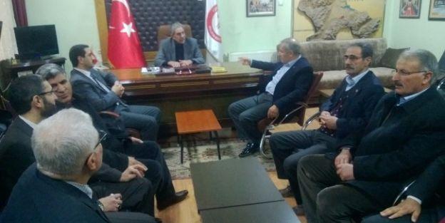Milletvekili Şahin'den Muhtarlar Derneğine Ziyaret