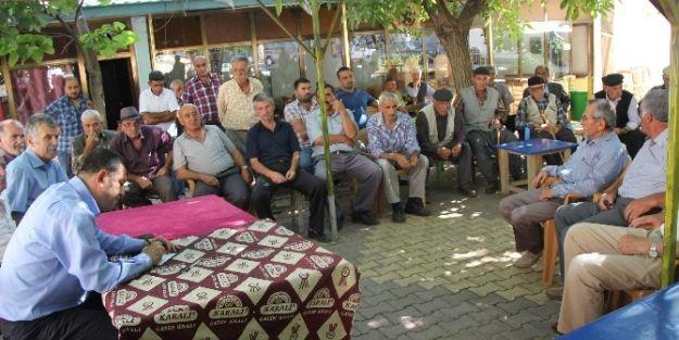 Milletvekili Veli Ağbaba, Polat Mahallesi'ni Ziyaret Etti