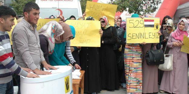 Mısır'da idam kararları protesto edildi