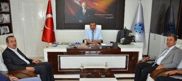 Muhasebeciler Odası, Başkan Gürkan'ı Ziyaret Etti