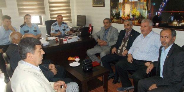 Muhtarlardan Emniyet Amiri Murat Kılınçtepe'ye Ziyaret