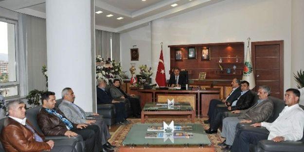 Müsiad Heyetinin Başkan Ahmet Çakır'a Ziyaret
