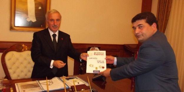 Müsiad Yönetimi Vali Süleyman Kamçı'yı Ziyaret Etti