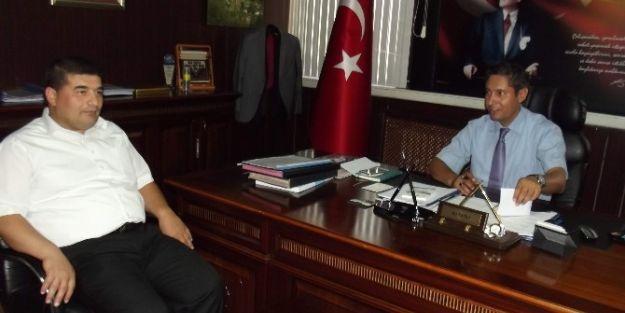 Müsiad Yönetiminden İl Milli Eğitim Müdürü Ali Tatlı'ya Ziyaret