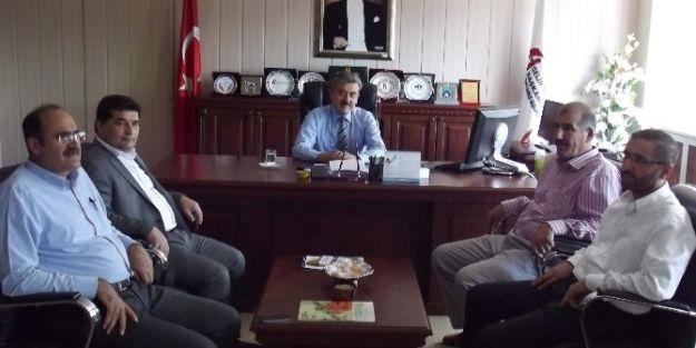 Müsiad Yönetiminden Vergi Dairesi Başkanı Yunus Poyraz'a Ziyaret