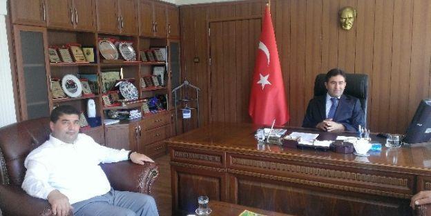 Müsiad'tan Yeşilyurt Kaymakamı Nesim Babahanoğlu'na Ziyaret