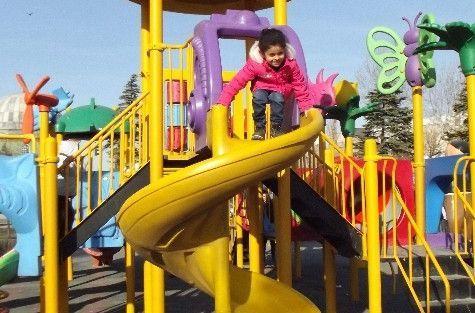 Ocak Ayında Çocukların Güzel Hava Keyfi