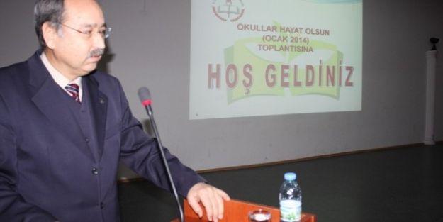 'okullar Hayat Olsun' Proje Toplantısı Yapıldı