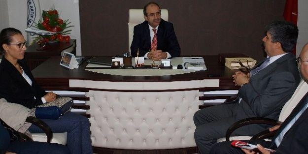 Porgalı'dan Makiad'a Seçim Ziyareti