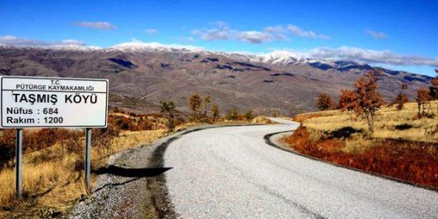 Pütürge-Taşmış-Tepehan grup yolunu asfaltlandı
