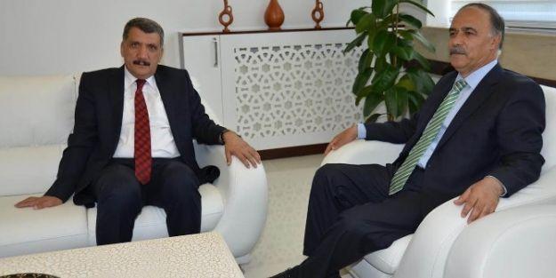 Rektör Cemil Çelik'ten Başkan Selahattin Gürkan'a Ziyaret