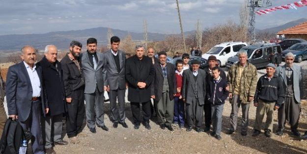 Saadet Partisi Köy Ziyaretlerinde Bulundu