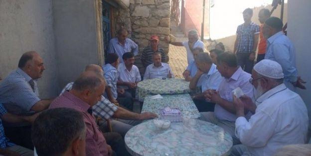 Şahin, Arapgir Ve Arguvan'ı Ziyaret Etti