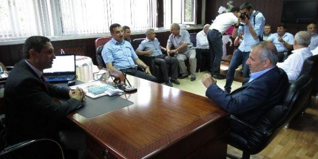 Şahin'den Mem Müdürü Ali Tatlı'ya Ziyaret