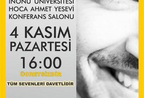 Şair Kahraman Tazeoğlu Malatya'da Şiir Dinletisine Katılacak