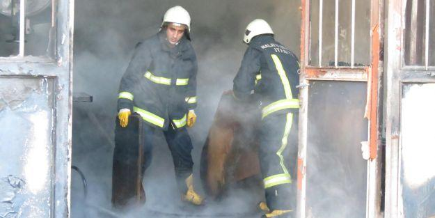 Sanayi Sitesi yangını ucuz atlattı