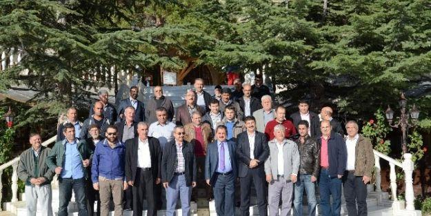 Sancaktepe Belediye Başkanı İsmail Erdem'den Darende Belediyesi'ne Ziyaret