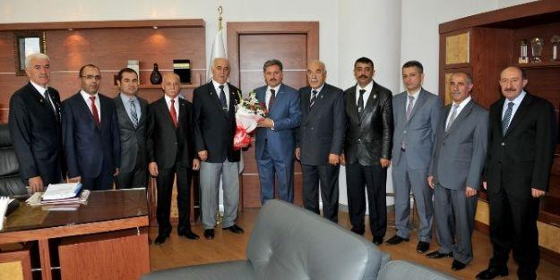Şehit Ve Gazi Derneklerinden Başkan Çakır'a Ziyaret