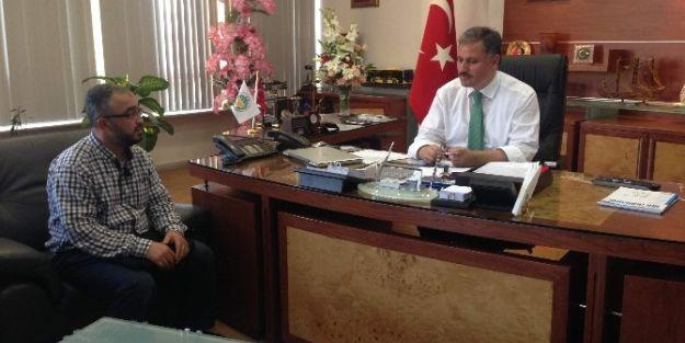 Semerkand Vakfı Yöneticilerinden Malatya Büyükşehir Belediye Başkanı Ahmet Çakır'a Ziyaret