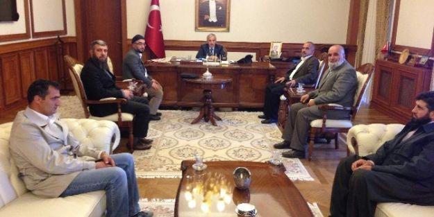 Semerkand Vakfı'ndan, Vali Süleyman Kamçı'ya Ziyaret
