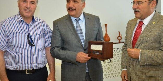 Sendikacılardan Başkan Selahattin Gürkan'a Ziyaret