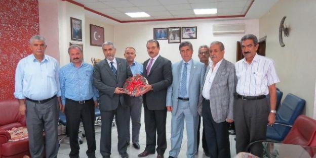 Sp Genel Başkan Yardımcısı Östek'den Mesob'a Ziyaret