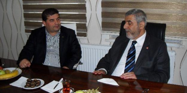 Sp Genel Başkan Yardımcısı Prof. Dr. Latif Öztek, Müsiad'ı Ziyaret Etti