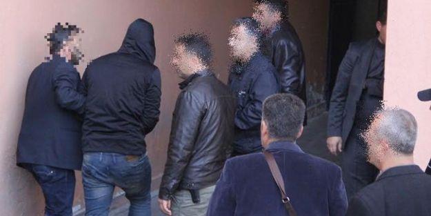 Suriye Bağlantılı Örgüt Şüphelileri Adliye'de
