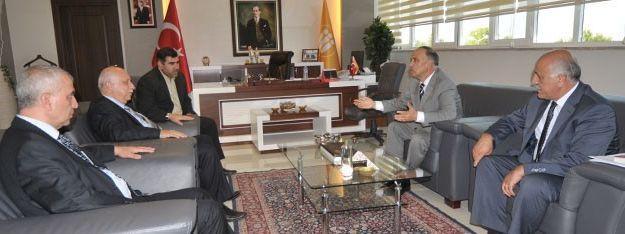 Suriye Milli Eğitim Bakanı Prof.dr. Muhyeddin Banana Malatya'da