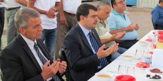 Suriyelilere birlik iftarı