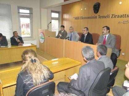 Tanıtım ve bilgilendirme toplantısı düzenlendi