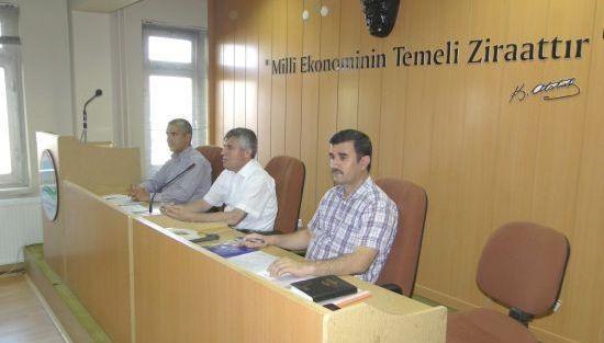Tarım Bilgilendirme Toplantısı Yapıldı