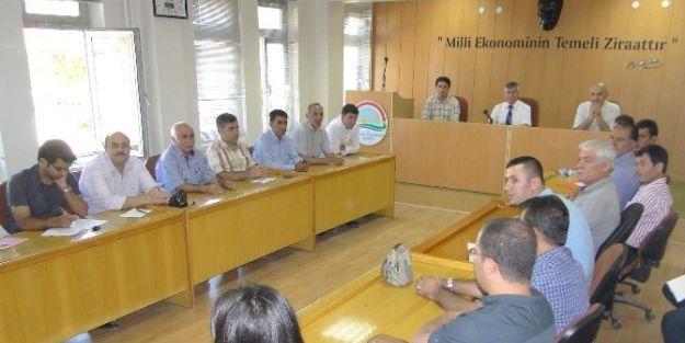 Tarım Toplantısında Konuşan Tarım İl Müdürü Ali Selvi: