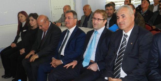 Tarımsal Bilgilendirme Toplantısı Yapıldı