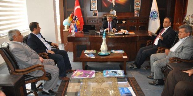 Ticaret Borsası'ndan Başkan Gürkan'a Ziyaret