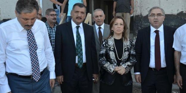 Toki Başkanı Ergün Turan Malatya'da İncelemelerde Bulundu