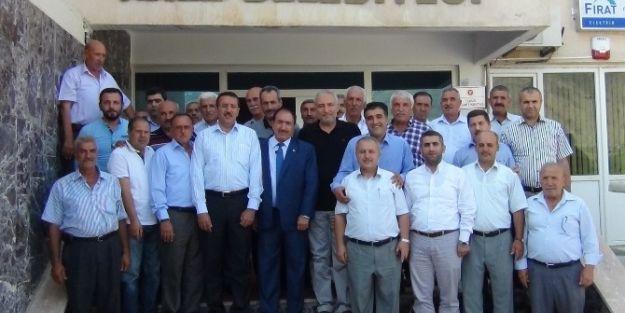 Tüfenkçi'den Kale Belediye Başkanı Akdemir'e Ziyaret