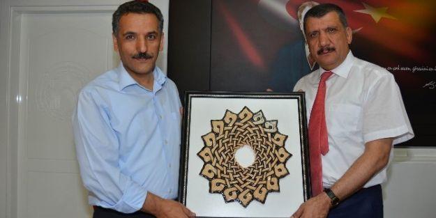 Tunceli Valisi Osman Kaymak, Başkan Selahattin Gürkan'ı Ziyaret Etti