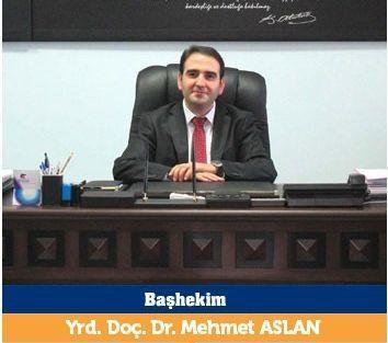 Turgut Özal Tıp Merkezi Başhekimliği'ne Mehmet Aslan Yeniden Atandı