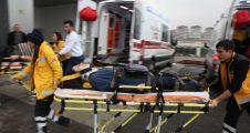 İki Trafik Kazasında 12 Kişi Yaralandı