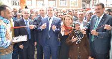 Ak Parti adaylarından Hekimhan ve Kuluncak'a ziyaret