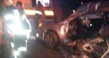 Malatya'da trafik kazası: 2 ölü, 3 yaralı