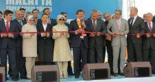 Toplu açılış töreninde konuşan Başbakan Davutoğlu