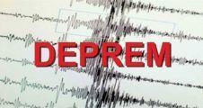 2 İlçede 5 Deprem